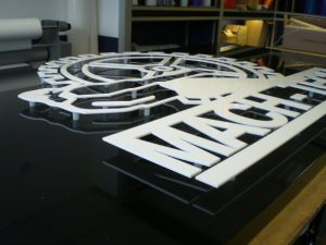Aluminium Sign Tray